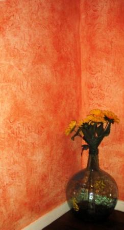 Bienvenue sur la vitrine de patrick tillier peintre d corateur dans le bocage vend en - Peinture a l eponge ...
